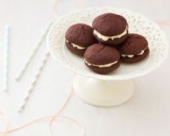 Recette whoopie pies chocolat-vanille