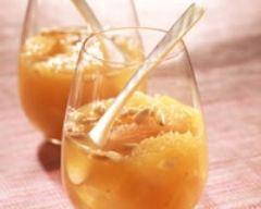 Recette soupe légère d'agrumes au miel