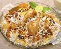 Recette poulet à l'indienne