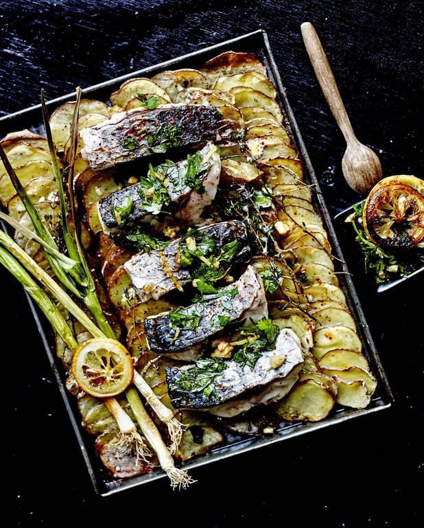 Tian de pommes de terre, poisson et gremolata pour 6 personnes ...