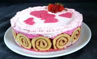 Recette de gâteau aux fraises