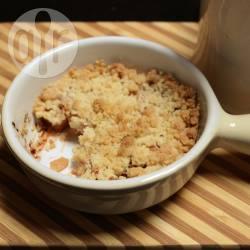 Recette crumbles individuelles aux pommes – toutes les recettes ...
