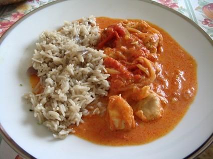 Recette de poulet au curry et gingembre