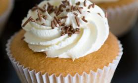 Vanilla cupcakes pour 12 personnes