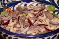 Recette de salade de haricots blancs au thon mariné