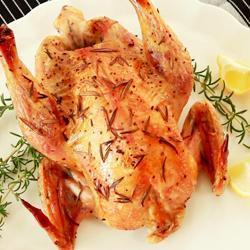 Recette poulet rôti au romarin et au citron – toutes les recettes ...
