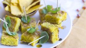 Cubes d'omelette espagnole aux tortillas pour 6 personnes ...