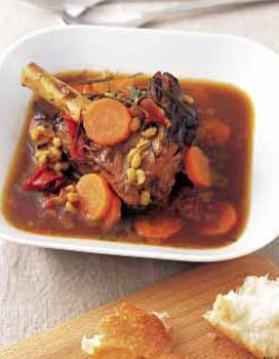 Souris d'agneau, sauce à l'orange et romarin pour 4 personnes ...