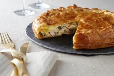 Recette de tourte de foie gras et morilles facile