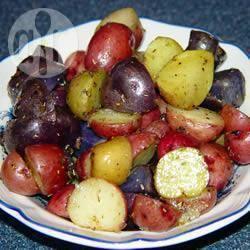 Recette pommes de terre rouges rôties au romarin – toutes les ...