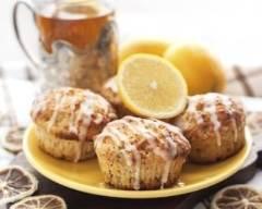 Recette muffins au citron et aux graines de pavot