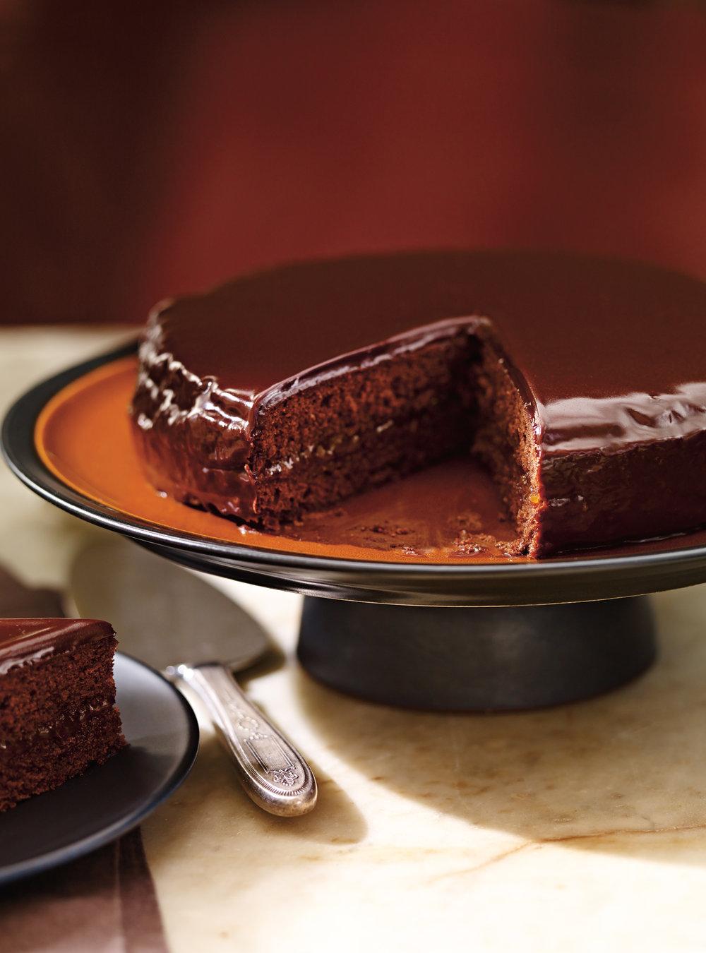 Gâteau au chocolat et à l'abricot (sachertorte) | ricardo