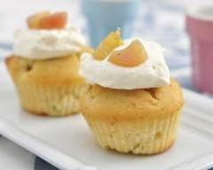 Recette cupcakes à la rhubarbe