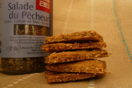 Recette de crackers aux algues