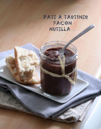 Recette de pâte à tartiner façon nutella maison