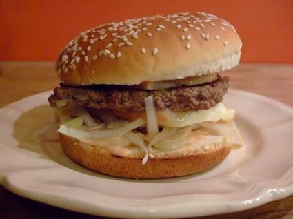 Recette de ch'ti burger