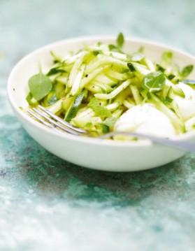 Salade de courgettes crues au citron vert pour 4 personnes ...