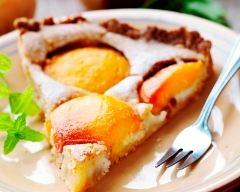 Recette tarte aux pêches