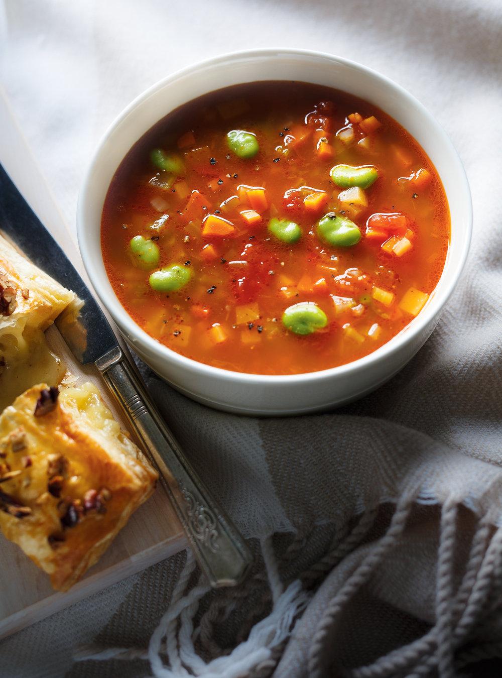 Soupe aux légumes | ricardo