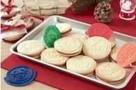 Recette de biscuits de noël fourrés au nutella