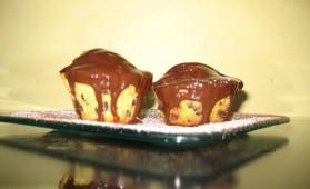 Muffins aux 2 chocolats pour 6 personnes