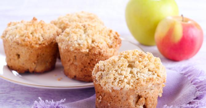 recette de muffins rustiques pomme et noisette recette. Black Bedroom Furniture Sets. Home Design Ideas