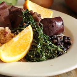 Recette feijoada brésilienne (ragoût de viande et de haricots noirs ...