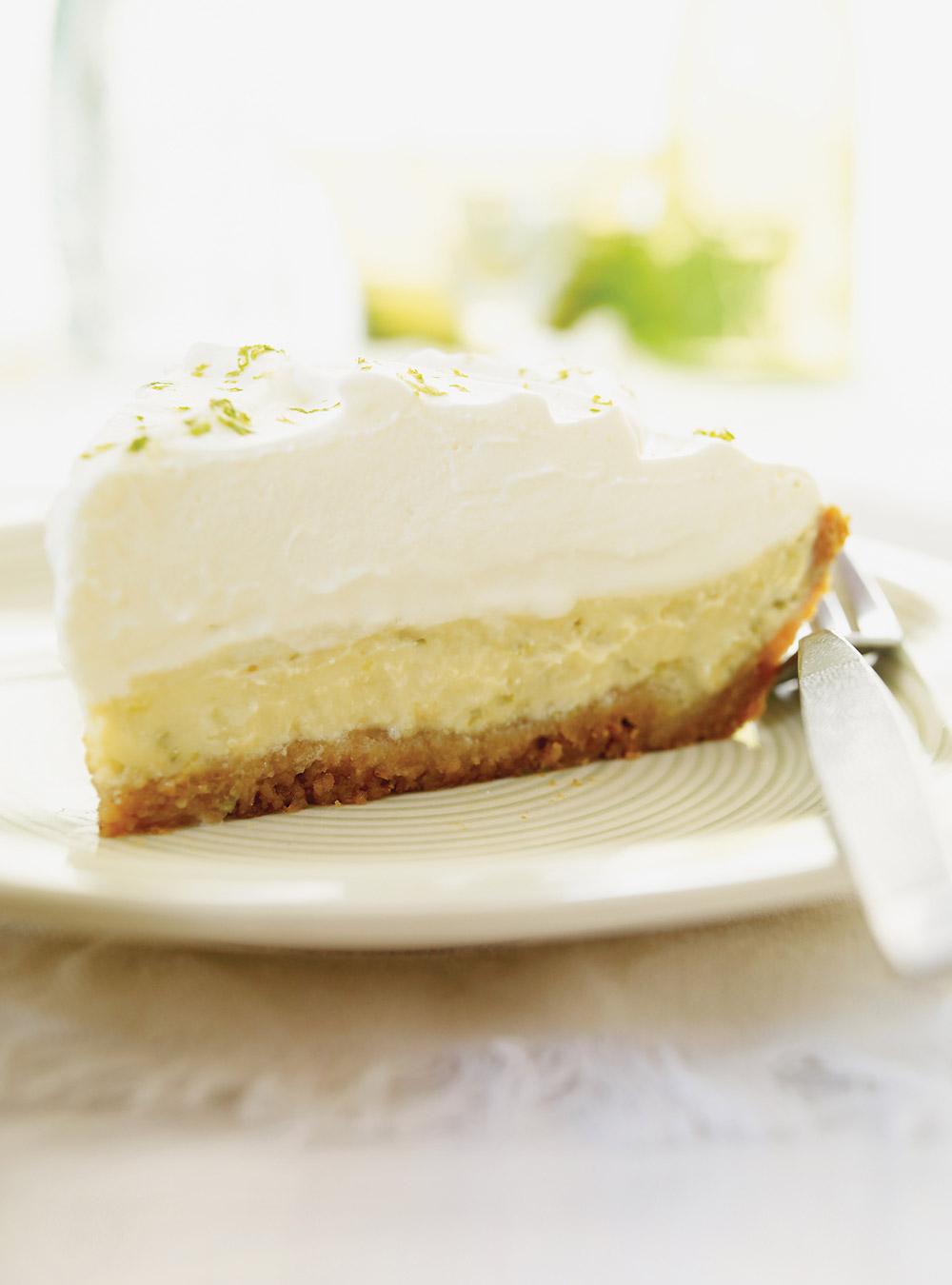 Tarte à la lime (key lime pie) | ricardo
