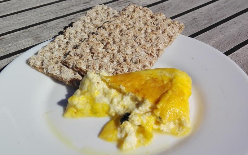 Recette omelette brocciu menthe, originale mais délicieux! pas ...