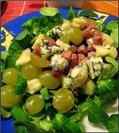 Recette de salade d'automne