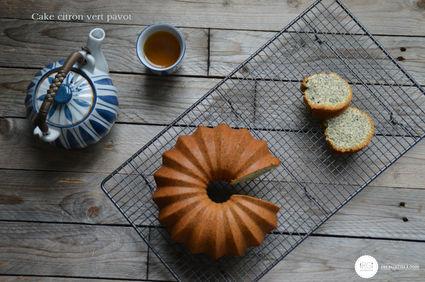 Recette de cake au citron vert pavot