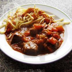 Recette goulache hongroise au bœuf et au porc – toutes les ...