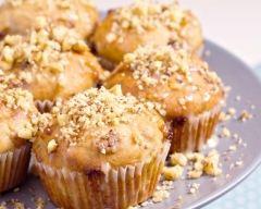 Recette muffins aux pommes et aux noix