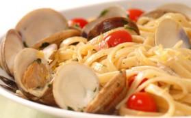 Spaghettis aux palourdes pour 4 personnes