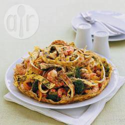 Recette omelette foo