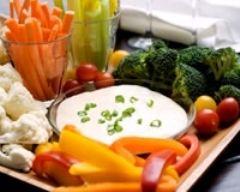 Recette dips de légumes frais
