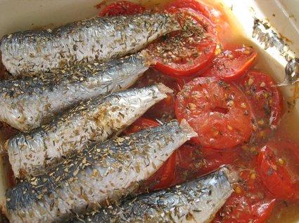 Recette de sardines au four
