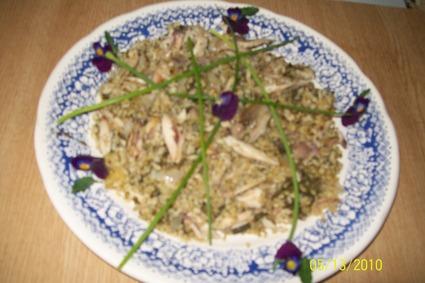 Recette de boulghour à l'oseille et au poulet