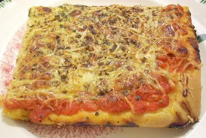 Pizza aux trois fromages