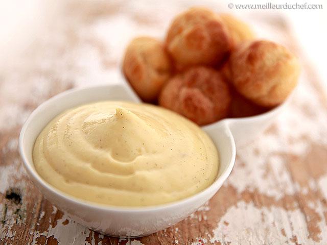 Crème pâtissière  fiche recette avec photos  meilleurduchef.com