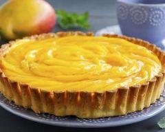 Recette tarte à la mangue et à la cannelle