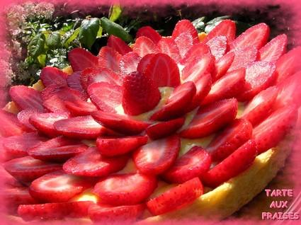 Recette de tarte aux fraises classique