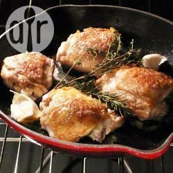 Recette cuisses de poulet à l'ail et aux herbes – toutes les recettes ...