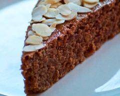 Recette gâteau nappé au miel et ses amandes
