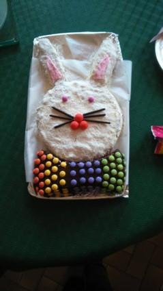 Recette de gâteau d'anniversaire au chocolat en forme de lapin