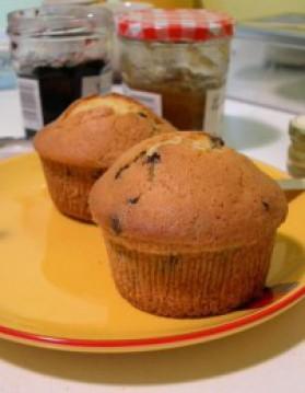 Muffins au chocolat pour 4 personnes