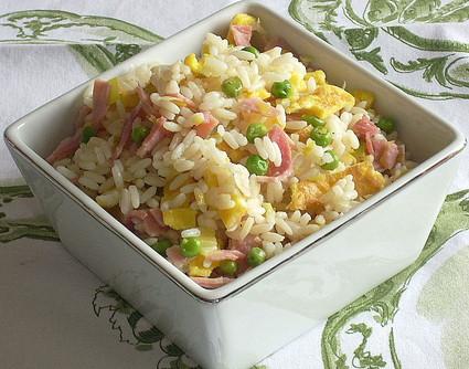 Recette de riz cantonais à ma façon