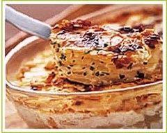 Recette gratin de pommes de terre aux 3 fromages