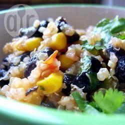 Recette quinoa aux haricots noirs et au cumin – toutes les recettes ...