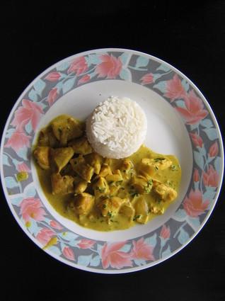 Recette de poulet au curry pas cher